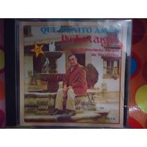 Pedro Vargas Cd Que Bonito Amor, Con Mariachi, 1990, Usa