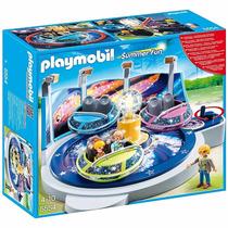 Playmobil Parque De Diversões Nave Giratória Com Luzes 5554