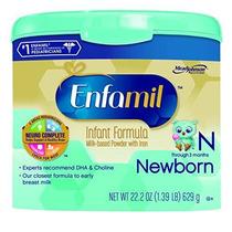 Fórmula Enfamil Bebé Recién Nacido - 22,2 Oz Polvo En Reutil