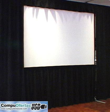 Lienzo de pantalla para video proyector diferentes medidas for Pantalla para proyector