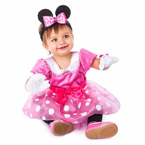 Disfraz Para Bebes Minnie Mouse Disney Store 12 Meses