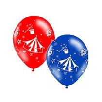 25 Balões/bexiga Decorados - Tema Circo