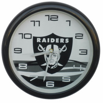 Reloj De Pared De Los Raiders