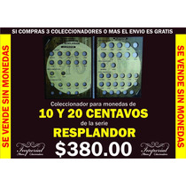 Coleccionador Para Monedas De 10 Y 20 Centavos Resplandor