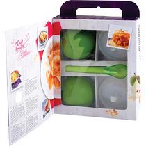 Kit 3 Peças Para Cozinhar Frutas No Vapor Verde - Mastrad
