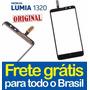 Tela Touch Lumia 1320 Vidro Nokia N1320 Visor 100% Original!