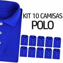 Atacado Camisas Polo Lisas, Original The Grife Uniformes