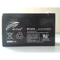 Bateria Sellada 12 Volts 7 Ah Carros Electricos Y No Breaks