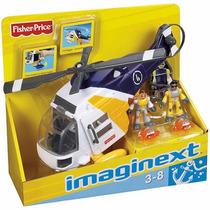 Imaginext Helicpotero Aventura Mattel Fisher-price