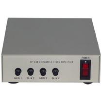 Jre, Amplificador De Video 4 Entradas Bnc, Cable Coaxial Vbf