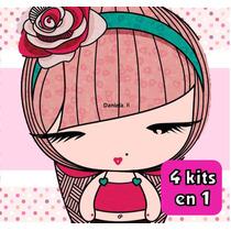 Kit Imprimible 47 Street 4 Kits En Uno Tarjetas Y Mas Unico