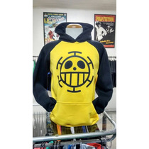 Moletom One Piece Trafalgar Law Blusa Casaco Anime Geek