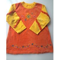 Vestido Infantil Marisol De Plush Tam.3 - Lindo!