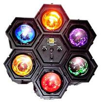 Luces Audioritmicas Tipo Spots Con Control Sensibilidad Vv9