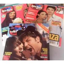 Lote 4 Revistas Tele Guia Año 2002
