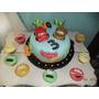 Torta 3kg Cars O Spiderman Decorada+ Doc Cupcakes Zona Sur