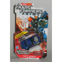 Transformers Prime Rid Hot Shot Deluxe Class