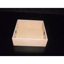 50 Bandejas Fibrofacil 15x15 Eco Ideal Souvenirs