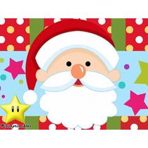 Kit Imprimible Fiesta Navidad, Invitaciones Y Cajitas