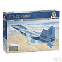 Avion Italeri F22 Raptor 1/48 Armar Pintar / Revell Testors