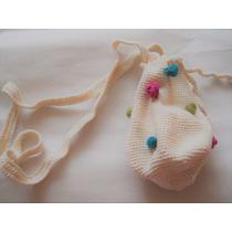 Bolso Tejido A Crochet Modelo Unico
