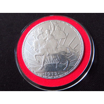 Moneda Plata Un Peso Caballito 1912 Hermosa Envio Gratis