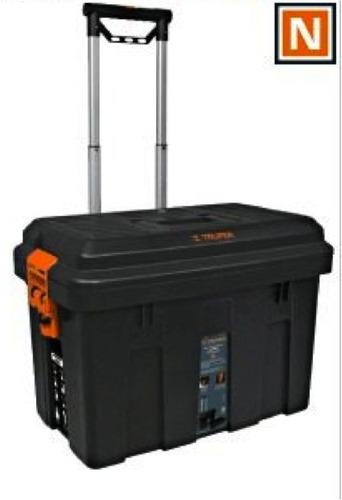 Caja para herramientas 25 pulg con ruedas truper 15320 - Cajas de plastico con ruedas ...