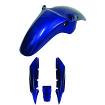 Carenagem Paralama+kit Rabeta Twister Azul 2004 Mod 2006a08