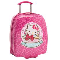 Mala Infantil Hellokitty, Alça Personalizada, Rosa - Pacific