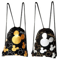 Morral Disney Mickey Mouse Drawstring Backpack 2 Pack