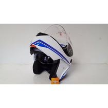 Casco Okn 1 Rebatible Doble Visor Motos Outlet Repuestos