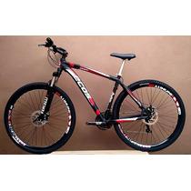 Bicicleta Ecos Onix Aro 29 - Câmbios Shimano Promoção