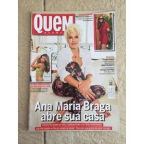 Revista Quem Ana Maria Braga Juliana Alves Grazi Massafera