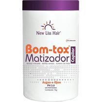 Bomtox Capilar Platinum Blond Matizador Alisa E Reduz New1kg