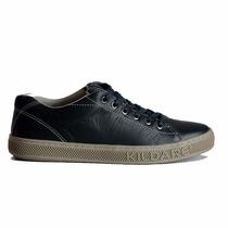 Sapato Masculino Sapatênis Couro Kildare Ru211 Couro Legítim