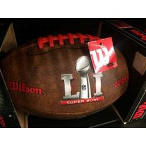 Balon De La Nfl Edición Super Bowl 51, Original.