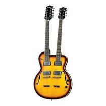 Guitarra Strinberg Double Neck Clg100 Loja Cheiro De Musica