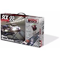 Scalextric Scx Pista Slot Wos Race Revolution Set (5.47m)