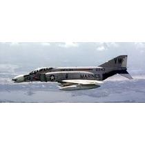 Planta Aeromodelo Jato F4 Phantom - Frete Grátis