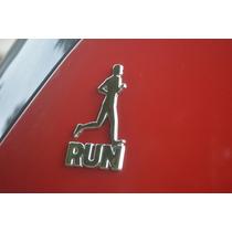 Emblema Alto Relevo 3d 3m Para Auto Corrida Homem Cromado