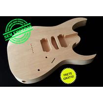 Corpo De Guitarra Similar Ao Modelo Ibanez Rg - Cedro Rosa