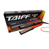 Planchita Para Pelo Taiff Titanium 450 Color Naranja