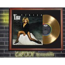 Tina Turner Private Dancer Tapa Lp Firmada Disco Oro