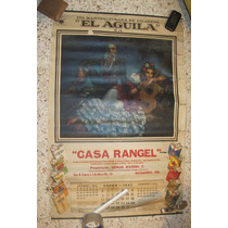 Antiguo Calendario 1947 Helguera, Cigarros El Aguila Raro