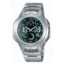 Reloj Casio Aq160 Cronometro Luz Automatica Buceo Alarmas