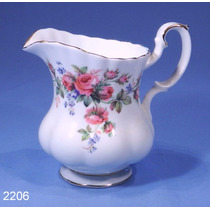 Jarra Lechera/cremera Porcelana Royal Albert, Moss Rose