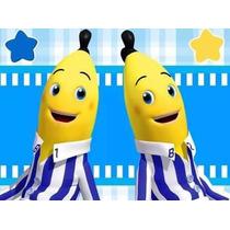 Kit Imprimible Candy Bar Bananas En Pijamas Cumples Y Mas