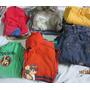 Lote De Roupas 16 Peças Tam 4 Menino - Camiseta, Calça, Blus