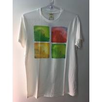Camiseta Tshirt Hollister California Surf Masculina Branca M