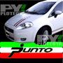 Calcos Fiat Punto Franja Italia - Calcomania Ploteoya!